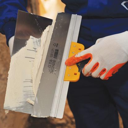 Dekor Spatula cu Maner Curbat din PVC/Cauciuc, 400 mm [1]