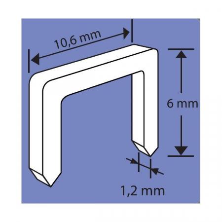 Capse Galvanizate pentru Ciocan Capsator [1]