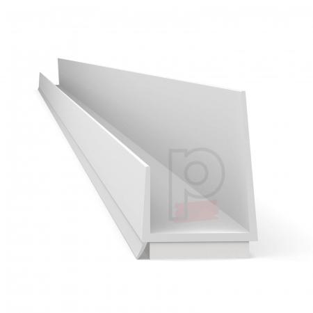 Einfassprofil mit Schaumklebeband - Element Cant Pentru Gips-Carton cu Lamela 12.5mm [1]