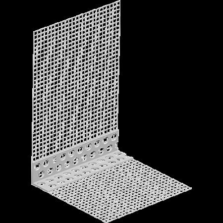 Coltar PVC cu Plasa Alba Pro GEW 1015-250-160-WL, 2.5 m0