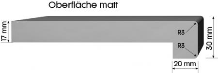 Glaf din Pal Melaminat Pentru Interior Trend 70 Alb [1]