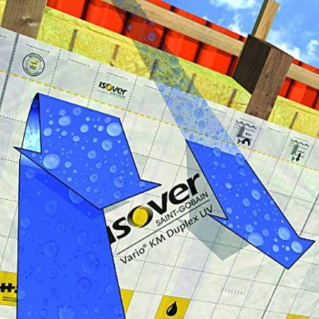 Isover KM Duplex UV, Membrana Bariera de Vapori cu Permeabilitate Variabila [1]