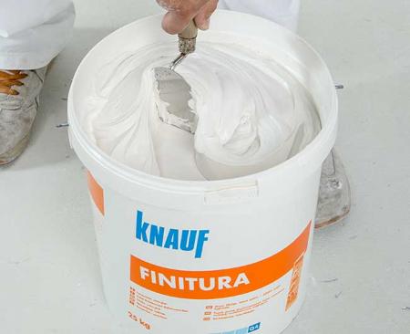 Knauf Finitura Glet Gata Preparat, 25kg2