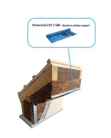 Bariera de Vapori Activa Homeseal LDS 5 Silk, 1.5 x 50 m, 75 mp/rola [3]