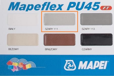 Sigilant si Adeziv cu Elasticitate Mare Mapeflex PU45 FT Gri, 600 mL [1]