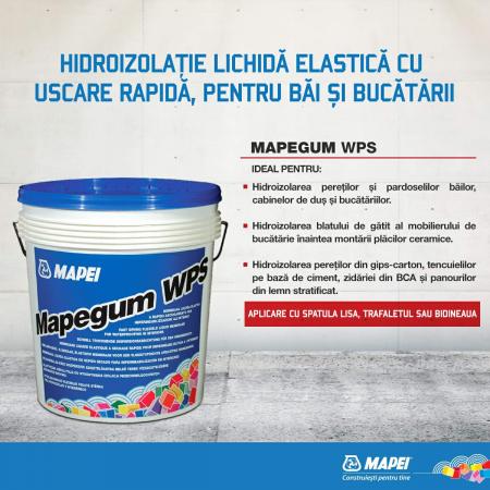 Hidroizolatie Lichida pentru Bai si Bucatarii, Mapegum WPS 5 kg [1]