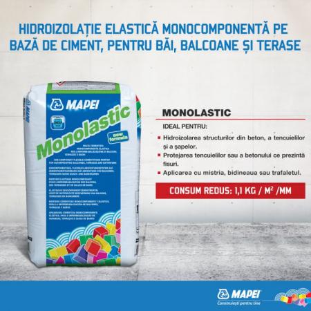 Mapei Monolastic Mortar cu Rol de Hidroizolatie Foarte Flexibila, 20kg1