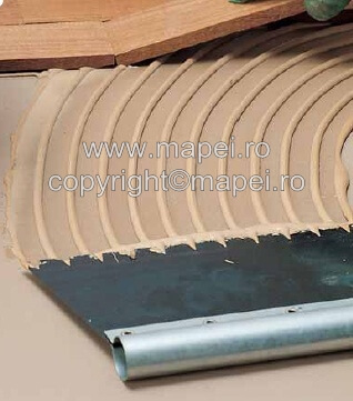 Mapei Spatula Metalica pentru Adeziv Parchet2