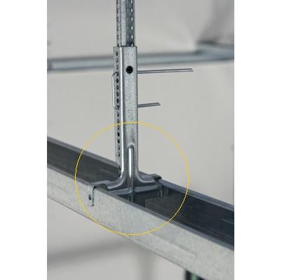 Knauf Piesa Suspendare Nonius Inferior pentru Profil CD60, 12 cm [2]