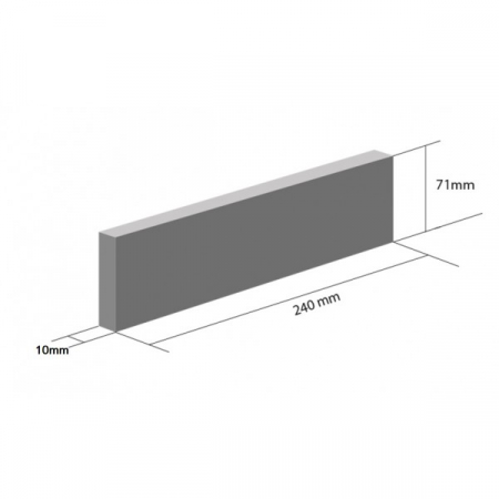 Placaj Ceramic Klinker HF02 Bengali Sunrise 240 x 71 x 10 mm [1]