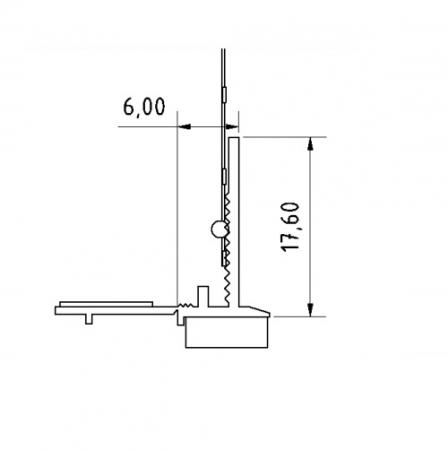 Anputzleiste U - Element de Legatura Usi si Ferestre, 1.6 m2