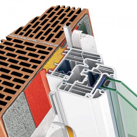 Apia Laibungsprofil - Element Etansare Tamplarie Pentru Tencuieli Interioare 6 mm, 2.4 m1