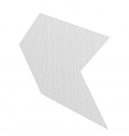 Armierungspfeil - Plasa Fibra Pentru Armare Diagonala la Ferestre si Usi 330x650 mm [0]