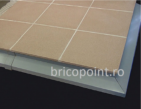 BalkonProfil Grau - Picurator Pentru Balcon sau Terasa Gri, 2 m7