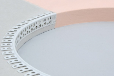 Coltar PVC Arcuibil pentru Bolte si Romanate 2.5 m1