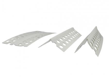 Coltar PVC cu Unghi Variabil pentru Glet, 25 m/rola [0]