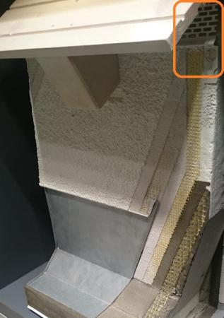 DachbeluftungsProfil - Element Ventilare Acoperis 06 2m3