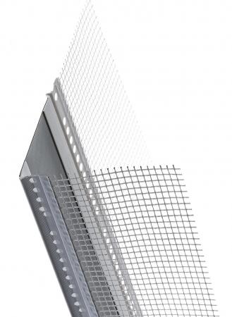DehnfugenProfil Corner V grey - Element de Rost de Dilatatie Colt 2.5 m [0]