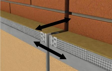 Dehnfugenprofil E grey - Element de Rost de Dilatatie Continuu 2.5 m2