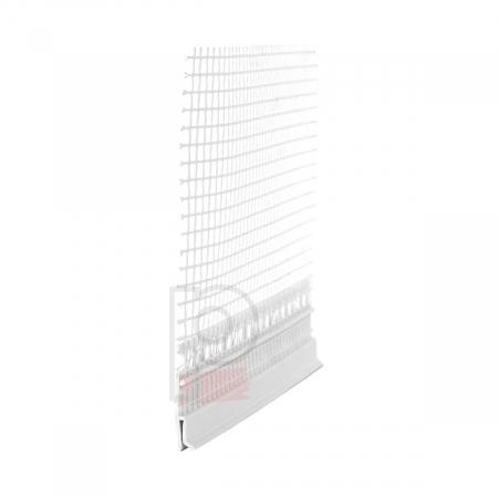 FensterbankAnschlussprofil Flexi H - Element H Conexiune Laterala Glaf 2m [0]