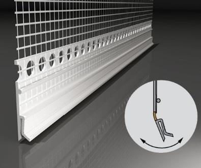FensterbankAnschlussprofil Flexi H - Element H Conexiune Laterala Glaf 2m [1]