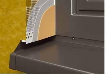 FensterbankAnschlussProfil SP - Element Conexiune Laterala Glaf, 2m [4]