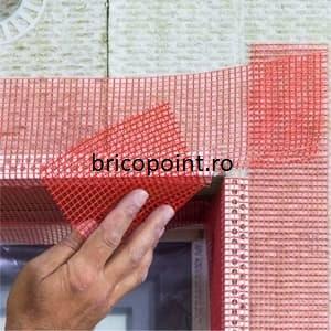 GewebeEckwinkel - Coltar PVC Premium cu Plasa Rosie 150x100 mm, 2.5 m [2]