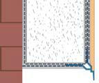 Tropfkante Mit Zuerkannter - Picurator Vizibil cu Plasa Utilizat la Fereastra, Balcon, Soclu, 2.5m3