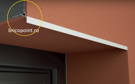 Tropfkante Mit Zuerkannter - Picurator Vizibil cu Plasa Utilizat la Fereastra, Balcon, Soclu, 2.5m4