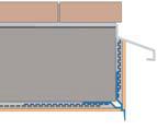 Tropfkante Mit Zuerkannter - Picurator Vizibil cu Plasa Utilizat la Fereastra, Balcon, Soclu, 2.5m2