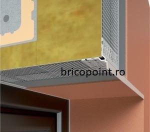 Tropfkante Mit Zuerkannter - Picurator Vizibil cu Plasa Utilizat la Fereastra, Balcon, Soclu, 2.5m1