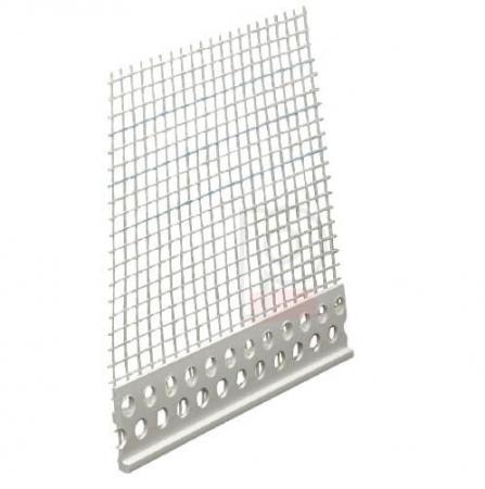 Putzabschlussprofil 3 mm - Element de Inchidere, Delimitare sau Separatie Finisaje, 2 m [0]