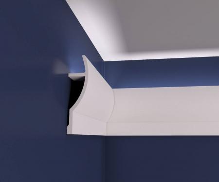 Scafa Decorativa din Polistiren Extrudat pentru iluminare indirecta SD10 [1]