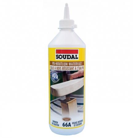 Soudal 66A Adeziv Poliuretanic Pentru Lemn, Rezistent la Apa [clasa D4]1