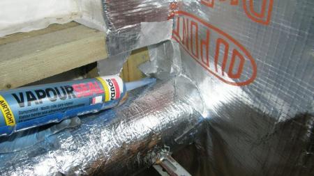Adeziv Rezistent la Vapori pentru Foliile din Constructii VapourSeal, 300 mL [1]