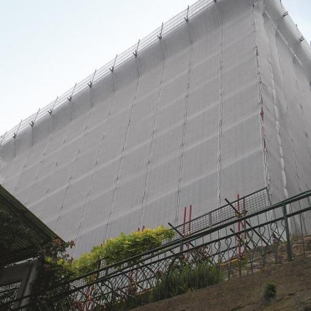 Tesatura de Protectie Impotriva Prafului pentru Schela cu Latime 1.8 m x 10 m2