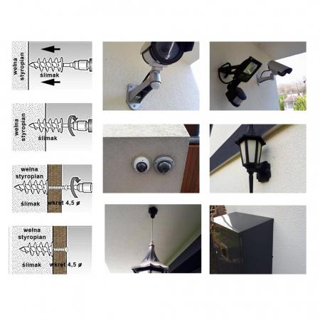 Wkret-Met Diblu Spiralat 85x28mm, pentru Fixari Obiecte in Termosistem2