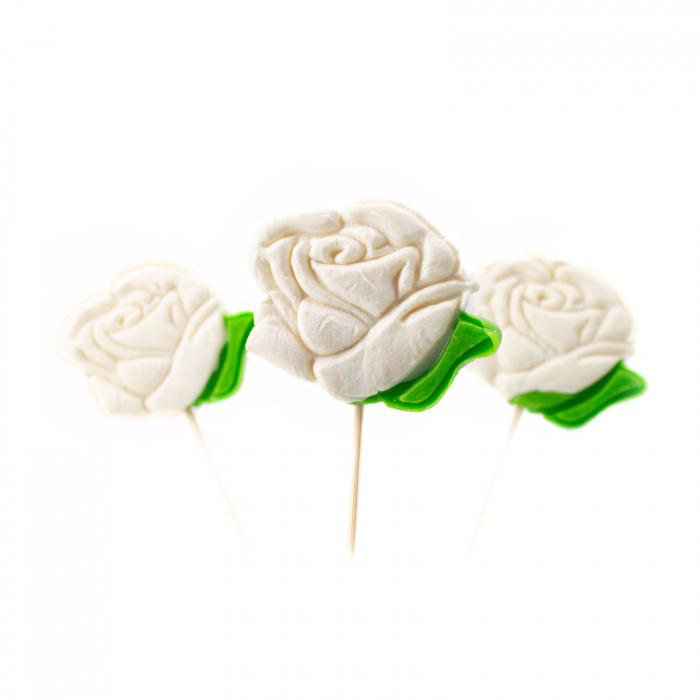 Acadea trandafir alb [0]
