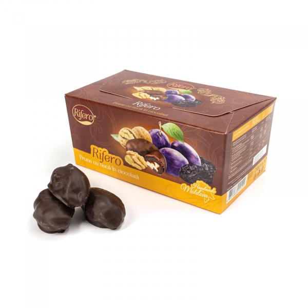 Prune cu nuca in ciocolata 230gr [0]