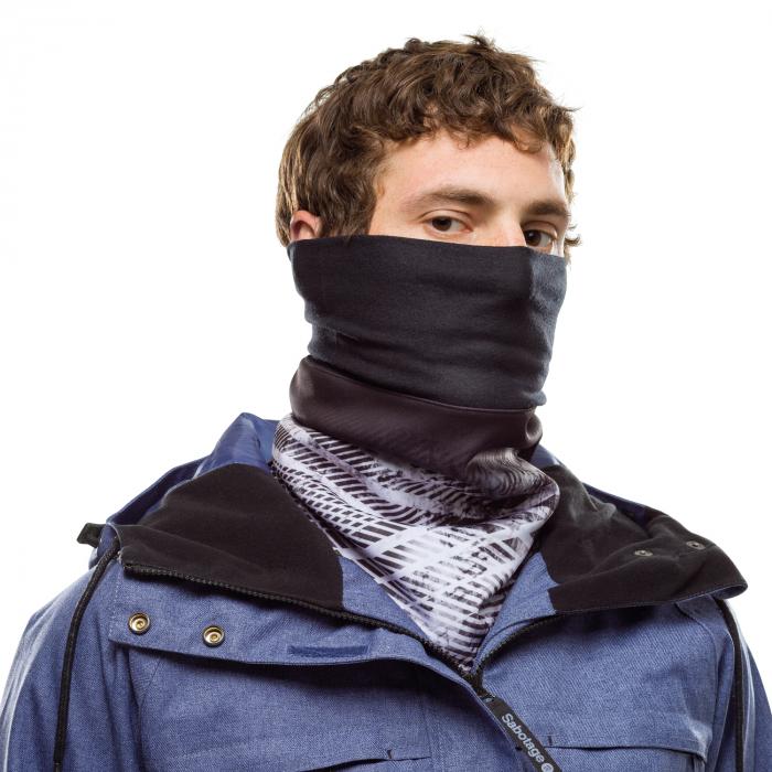 Windproof neckwarmer CAMALEONIC BLACK 0