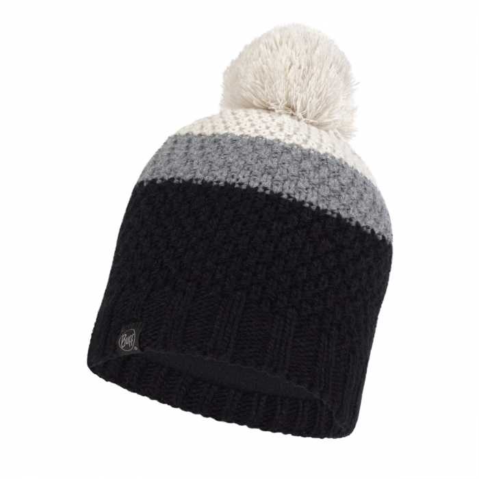 Caciula copii knitted polar JR NOEL BLACK 0