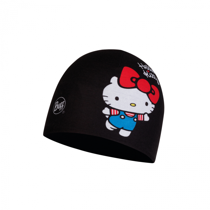 CACIULA Junior MICRO POLAR HELLO KITTY HAT 45TH BLACK 0