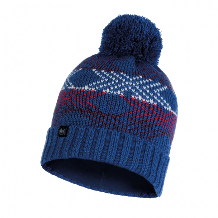 CACIULA KNITTED POLAR GARID BLUE 0