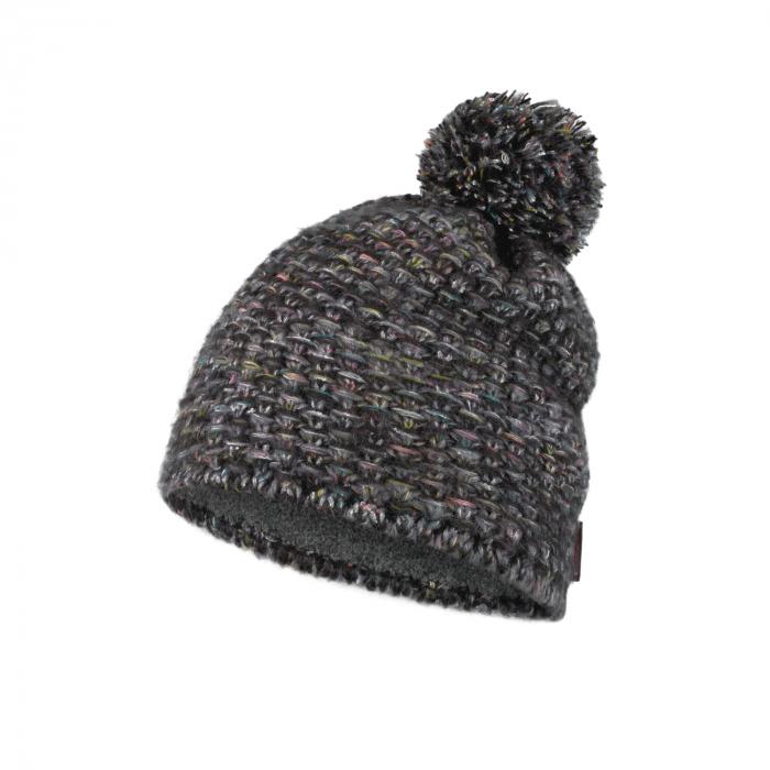 Caciula knitted polar GRETE Castlerock grey 0