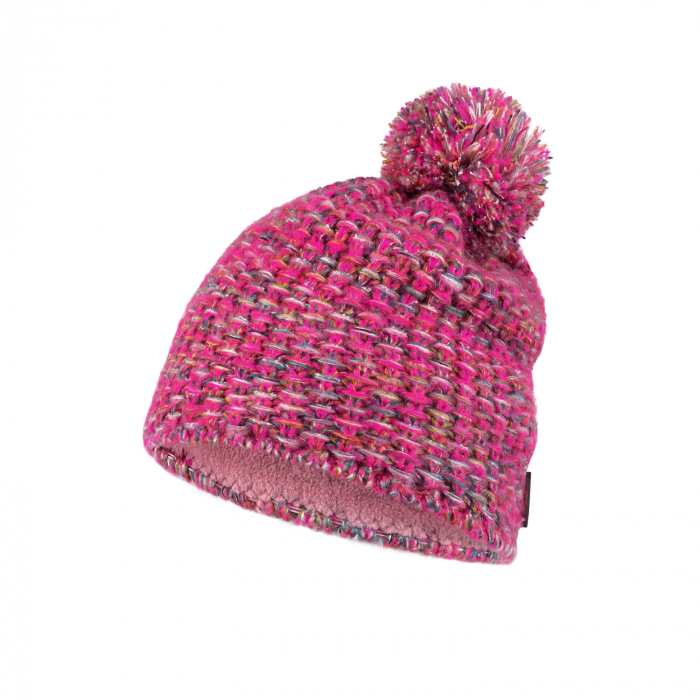 Caciula knitted polar GRETE Pink 1