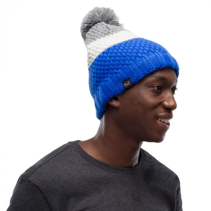 Caciula knitted polar JAV Olympian blue 1