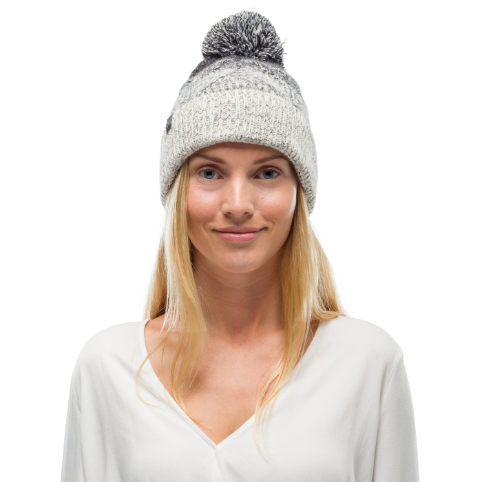 Caciula knitted polar MASHA Grey 0