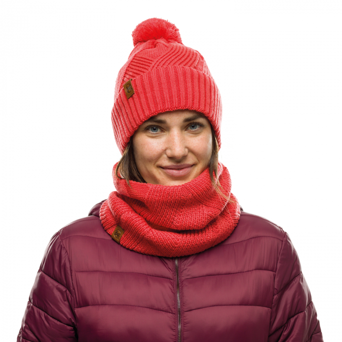 CACIULA KNITTED POLAR RAISA BLOSSOM RED 1