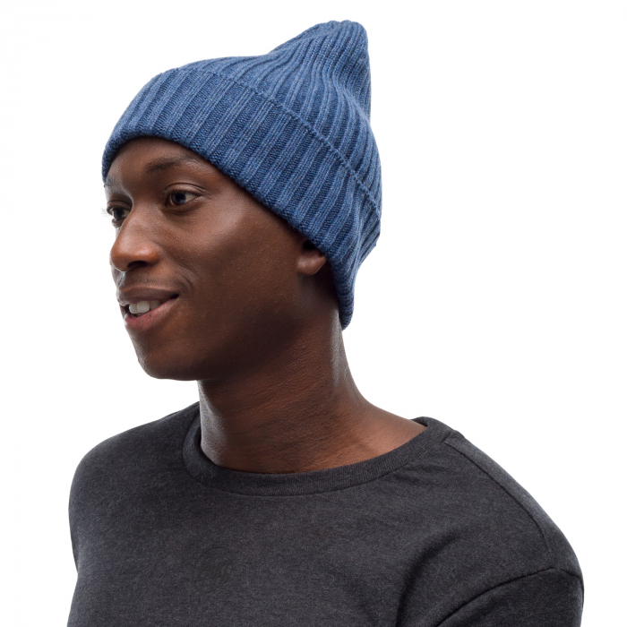 Caciula knitted wool NORVAL Denim [2]