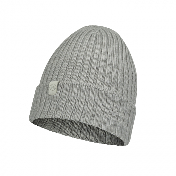 Caciula knitted wool NORVAL Light grey 0